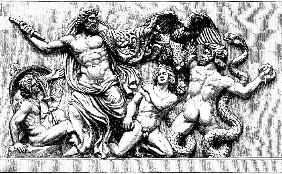 When Zeus Fell Like Lightning
